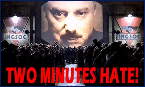 Two minutes hate - Orwell - 1984