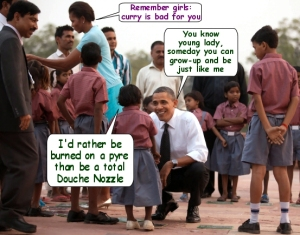 Obama-IndianKid-DoucheNozzle