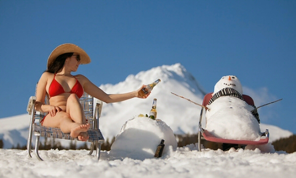 Japanese bikini idol.
