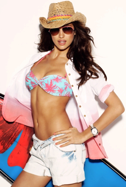 Irina Shayk for Blanco Beachwear Summer 2012 Campaign.